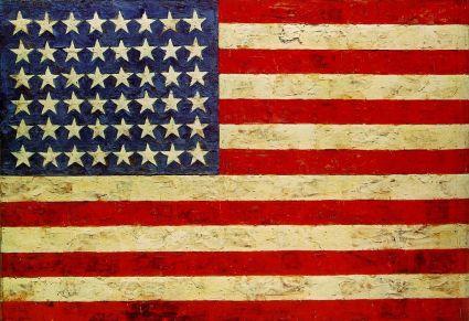 Jasper Johns's Flag (1954-55)