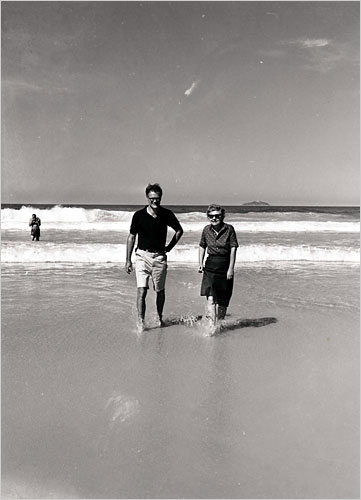 Robert Lowell and Elizabeth Bishop in Brazil, 1962, Credit - Courtesy of Vassar College Library