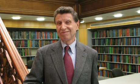 Morris Dickstein, CUNY Graduate Center, Mina Rees Library