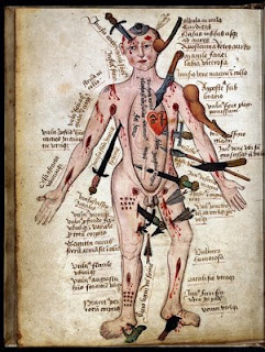 Image from The Art of Medicine: Over 2,000 Years of Images and Imagination, by Julie Anderson, Emm Barnes and Emma Shackleton (The University of Chicago Press, 2012); images used courtesy of the Wellcome Trust