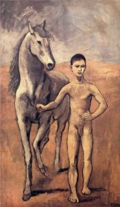 Boy Leading a Horse, 1906, by Pablo Picasso