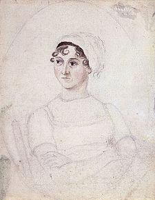 Portrait of Jane Austen, drawn by her sister Cassandra (c. 1810)