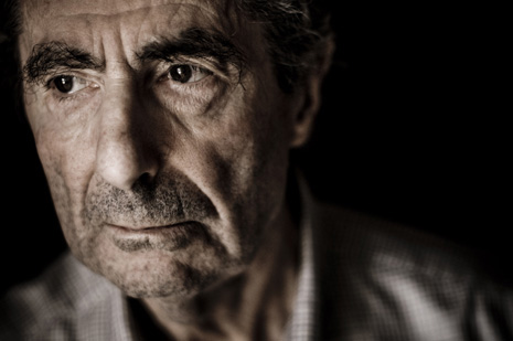 Writer Philip Roth at his home in Manhattan. Photograph by Chris Maluszynski/Moment/Redux.