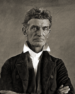 1856 daguerreotype of John Brown