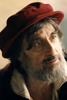 Pacino as Shylock