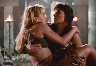 Xena and Gabrielle, Xena Warrior Princess