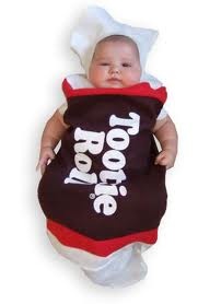 Baby in Tootsie Roll