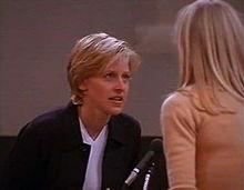 Ellen DeGeneres, The Puppy Episode, Susan, I'm gay; Ellen Morgan comes out