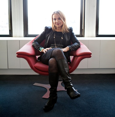 Photograph of Esther Perel, by Danny Ghitis for The New York Times