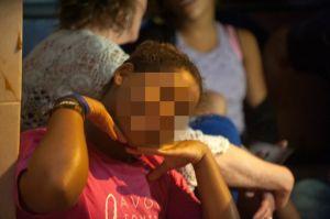 Child prostitute