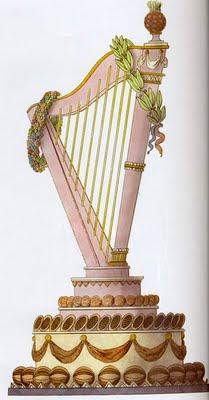 Carme Harp Cake