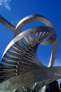 The DNA Spiral by Charles Jencks