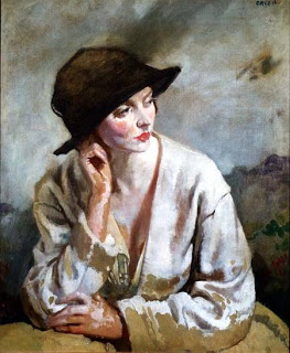 Portrait of Miss Sinclair, Sir William Orpen. Irish (1878 - 1931)