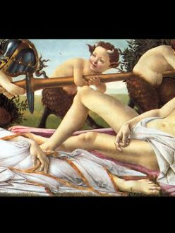 """Venus and Mars"" by Sandro Botticelli"