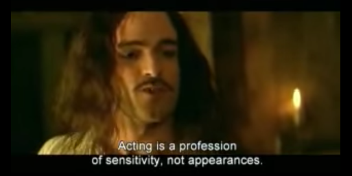 Moliere-Acting is a profession