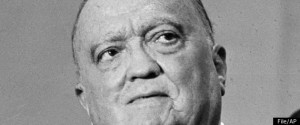 J. Edgar Hoover, FBI Director (or Pathogen in Chief?), Associated Press photo