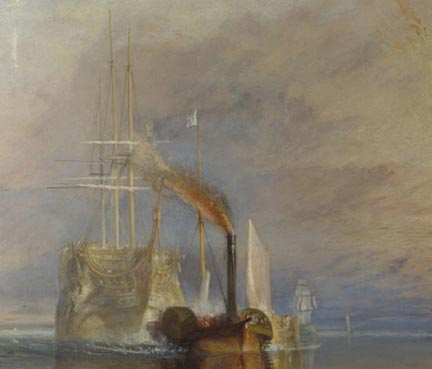 Turner-fighting-temeraire detail