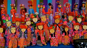Ethnic minority 'dolls'