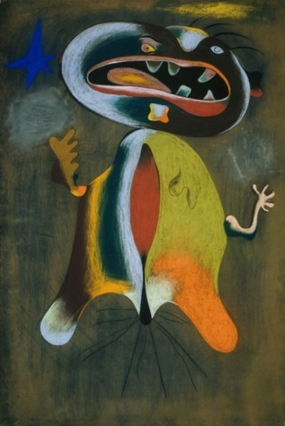 Joan Miró, Mujer (Woman), in collection of Art Institute of Chicago