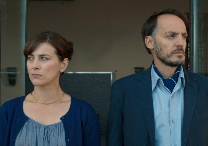 Christelle Prot and Fabrizio Rongione in La Sapienza, directed by Eugène Green
