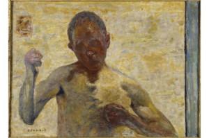 Bonnard Le boxeur (portrait de l'artiste) - boxer self portrait, 1931; le Musée d'Orsay