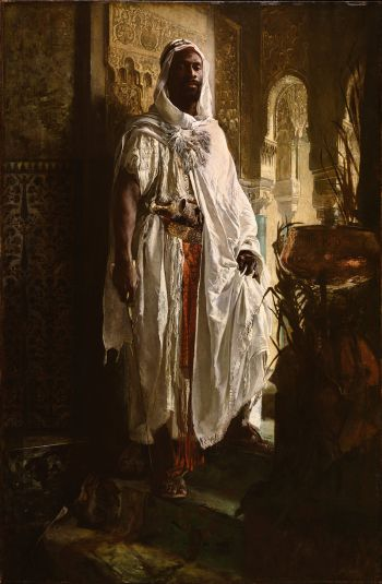 Eduard Charlemont, The Moorish Chief, 1878. Philadelphia Museum of Art.