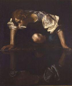 Caravaggio_Narcissus_2