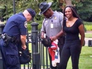 Bree Newsome Arrest