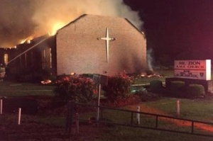 Burning Mt Zion Church