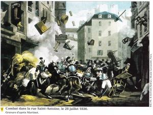 July Revolution - gravure