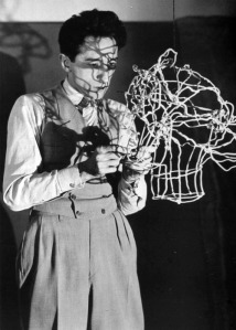 cocteau man ray wire sculpture