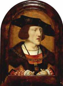 Painting of Charles V by an unknown Flemish artist