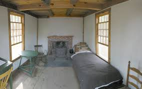 Reconstruction of the interior of Thoreau's cabin