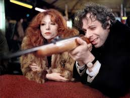 Dominique Labourier and Jean-Luc Bideau in Alain Tanner and John Berger's 1976 film Jonas qui aura 25 ans en l'an 2000 (For Jonas Who Will Be 25 In The Year 2000) - shooting gallery