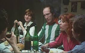 Dining scene still from Alain Tanner and John Berger's 1976 film Jonas qui aura 25 ans en l'an 2000 (For Jonas Who Will Be 25 In The Year 2000)