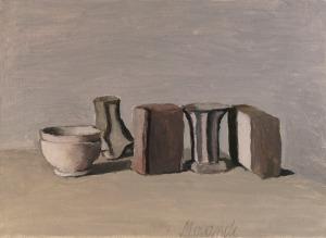 Giorgio Morandi, Natura-morta 1951, Bologna, Museo Morandi