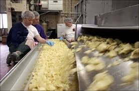 potato chip assembly line Ballreich Bros Tiffin Ohio