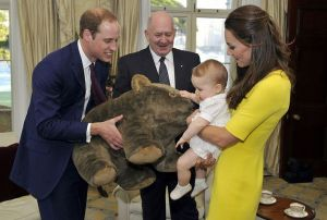 Prince George parents gift wombat Australia