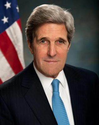 John Kerry, US Secretary of State and former Senator from Massachusetts and Presidential candidate