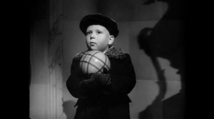 Herbert Halbik, the little boy with the ball in The Third Man, directed by Carol Reed, 1949