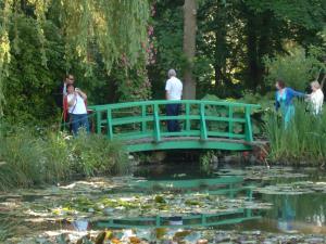 "fig. 3 Monet's ""Japanese bridge"""