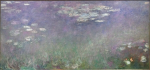 Monet: Preparatory work for the Grandes décorations. Cleveland Museum of Art