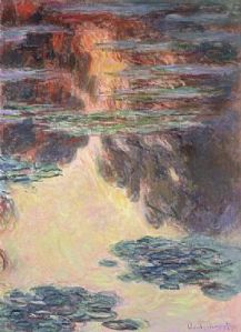 Another in the 1907 Water Lilies series