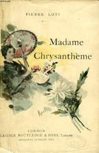 Pierre Loti; Madame Chrysanthème, cover