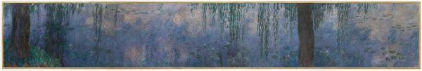 Monet: Morning with Willows, 1920-26. Paris: Orangerie Museum