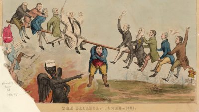 The Balance of Power in 1831, cartoon, BBC Radio 4, In Our Time, The Great Reform Act