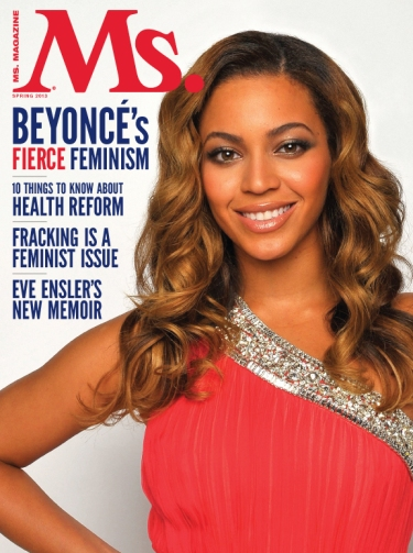 Ms Magazine, Spring 2013, Beyoncé cover