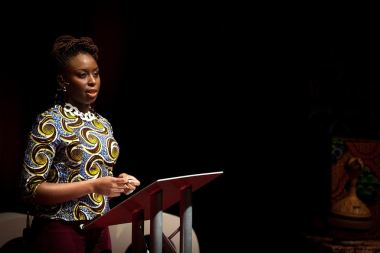 Chimamanda Ngozi Adichie, award-winning author of Americanah
