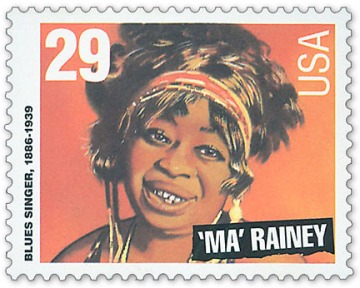 Gertrude 'Ma' Rainey Postage Stamp, 29 cents