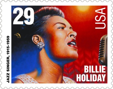 Billie Holiday Postage Stamp, 29 cents